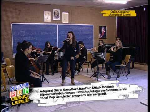 Adıgüzel Güzel Sanatlar Lisesi Müzik Bölümü Öğrencileri Kral Pop Gençlerle Programında!