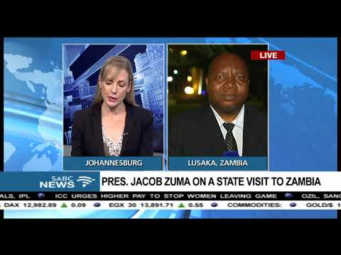 Mbeje on Pres Zuma's state visit to Zambia