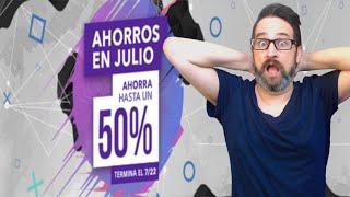 Llegaron los AHORROS EN JULIO y JUEGOS POR MENOS DE $15 USD a PS Store Julio 8, 2020