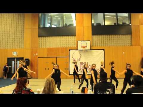 University of Southampton Advanced Jazz, BNU dance competition 2016