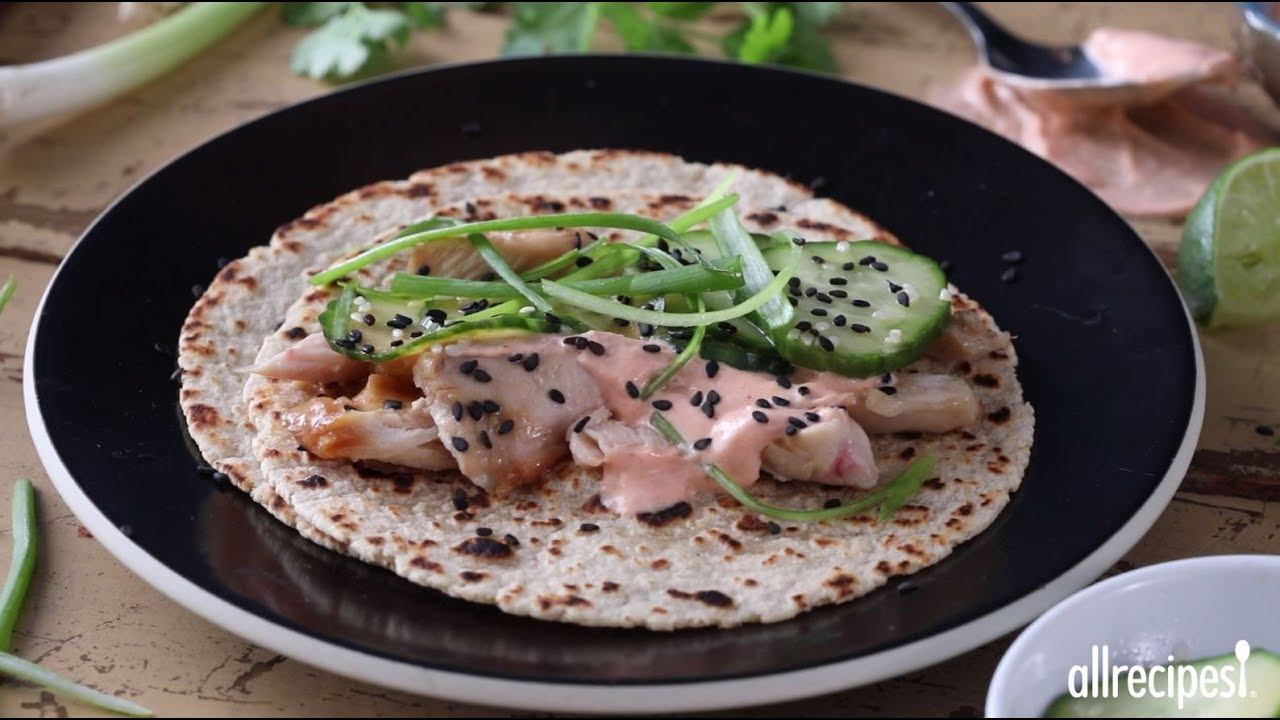 How to make chicken teriyaki tacos dinner recipes allrecipes how to make chicken teriyaki tacos dinner recipes allrecipes forumfinder Images