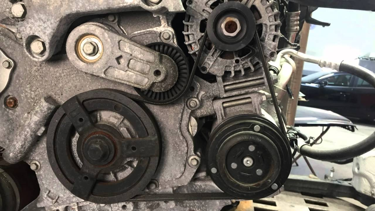 1994 Buick Regal Serpentine Belt Routing And Timing Belt Diagrams