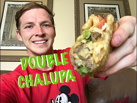 Taco Bells NEW Double Chalupa (Steak Experiment) SO GREASY!