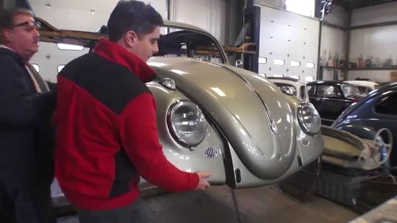 Images volkswagen coccinelle fender volkswagen coccinelle fender en - Classic Vw Bugs How To Mount Your Fenders And Beads For Vintage Beetle Youtube