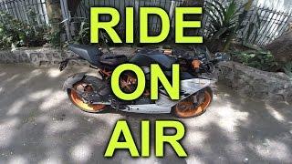 Ride on air review | KTM RC390 | Air Seat Cushion
