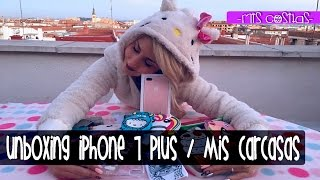 HAUL ALIEXPRESS CARCASAS I APPLE IPHONE 7 PLUS UNBOXING ·PATRIZIENTA·