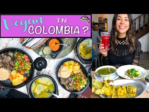 WHAT I ATE VEGAN IN COLOMBIA 🇨🇴 Travel Vlog