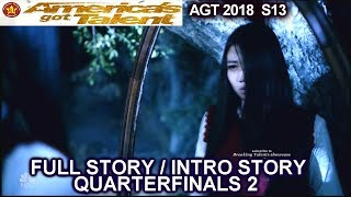 The Sacred Riana Full Judge Comments &Full INTRO STORY QUARTERFINALS 2 America's Got Talent 2018 AGT