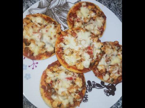 صورة  طريقة عمل البيتزا طريقة عمل البيتزا بحشوة الدجاج | وصفة سهلة وسريعة طريقة عمل البيتزا من يوتيوب