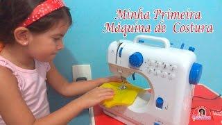 Minha primeira máquina de costura