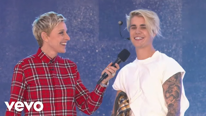 justin bieber  what do you mean live from the ellen show