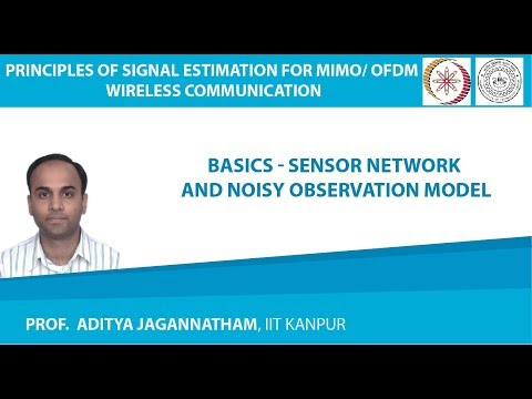 Lec 01 Basics–Sensor Network and Noisy Observation Model