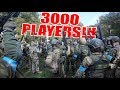 3000 Airsoft Players in One Game!!! - UK National Airsoft Festival 2018
