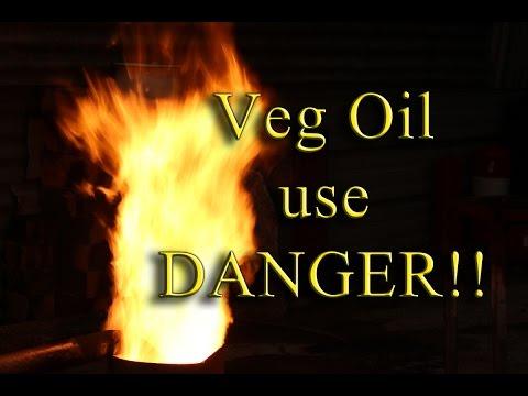 Veg Oil Use Danger