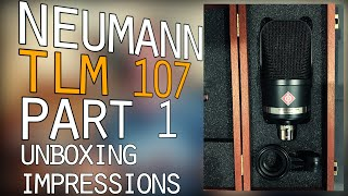 Let's Talk About the Neumann TLM 107 - Part 1 - In Depth Unboxing and Review
