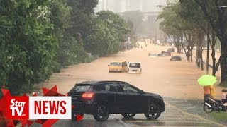 Segambut Dalam hit by flash floods