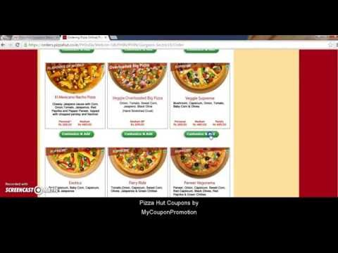 How  To Use Pizzahut Coupon Codes?