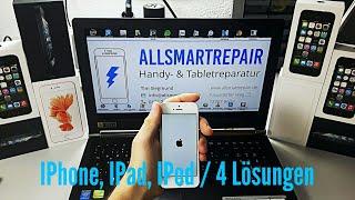 IPhone, IPod, IPad Startet nicht mehr, Touch hängt, Bootloop! LÖSUNG!! 4 Möglichkeiten!! 2017