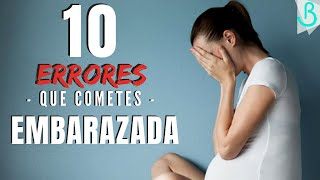 🙅🏼‍♀️🤰🏻10 ERRORES que cometes EMBARAZADA || Baby Suite by Pau