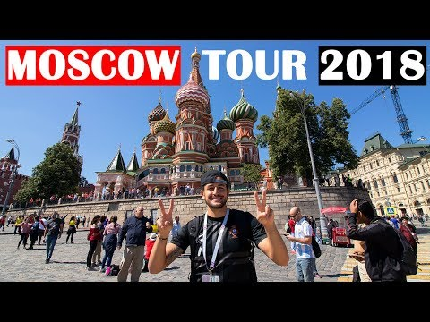 MOSCOW CITY TOUR AND RUSSIAN FOOD | WORLD CUP TRAVEL VLOG 2018