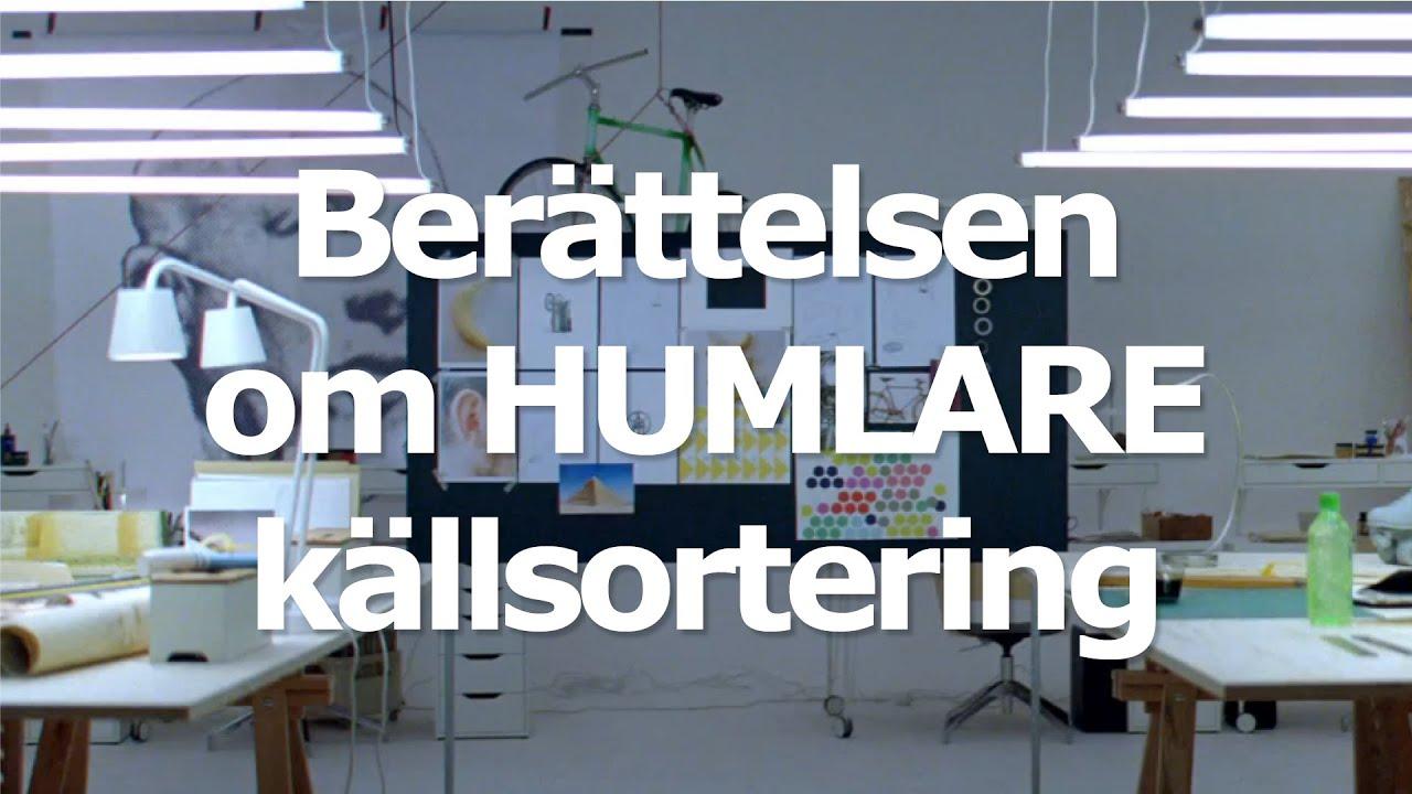 IKEA – Berättelsen om HUMLARE källsortering - YouTube
