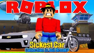 ROBLOX - THE SICKEST CAR COLLECTION IN JAIL BREAK!!