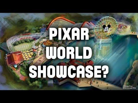 Pixar World Showcase?