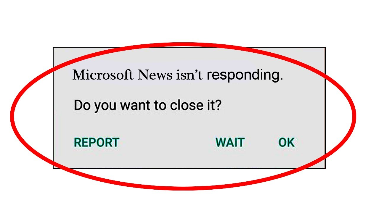 How To Fix Microsoft News App Isn T Responding Error In Android Microsoft News Not Working Issue Youtube