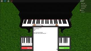Married life and default dance on Roblox Piano!
