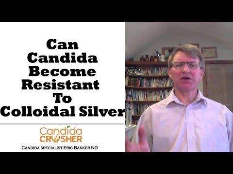 kolloidalt silver mot candida