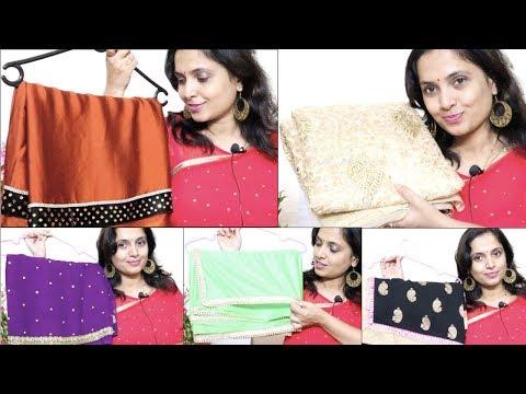 21 ಲೇಟೆಸ್ಟ್ ಸೀರೆ ಡಿಸೈನ್ಸ್ | 21 Latest Saree Designs Collection - Everyday Fashion & Designer Sarees