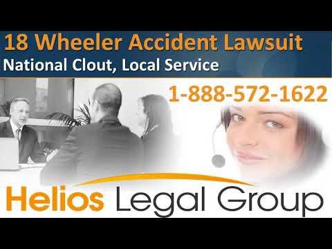 18 Wheeler (Eighteen Wheeler) Accident Lawsuit - Helios Legal Group - Lawyers & Attorneys