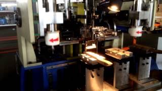 сверлильно-набивная машина для производства щетки с металлическим ворсом(Тестовый запуск., 2015-02-26T12:27:57.000Z)