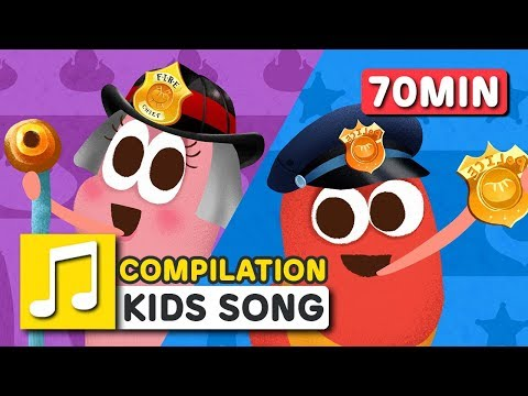 Great Jobs in the World and other songs | 75 min | LARVA KIDS | Nursery Rhyme for kids