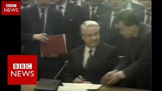 Russia  25 years since USSR   BBC News