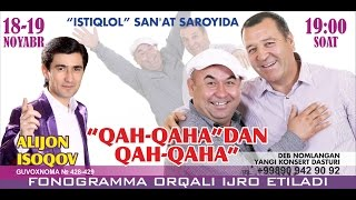 Qahqaha - Qah-qaha'dan qah-qaha nomli konsert dasturi 2013