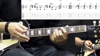 Gary Moore - Cold Day In Hell - Blues Guitar Lesson Part1 (with Tabs)