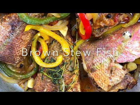 How To Make Brown Stew Fish