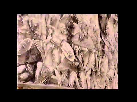 Rome: flight over Alps: Roman Forum:March 1999