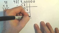 Dividing a Number by a Larger Number : Fractions/ Decimals / Percents