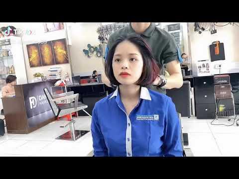 Cắt tóc ngắn cho gương mặt tròn