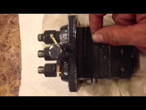 Kioti CK30 Injection Pump  YouTube