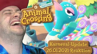 MARONUS bist du's?! KARNEVAL-EVENT in ANIMAL CROSSING: NEW HORIZONS - Domtendos Reaktion