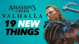 Assassin's Creed Valhalla Gameplay - 19 NEW THINGS!!!