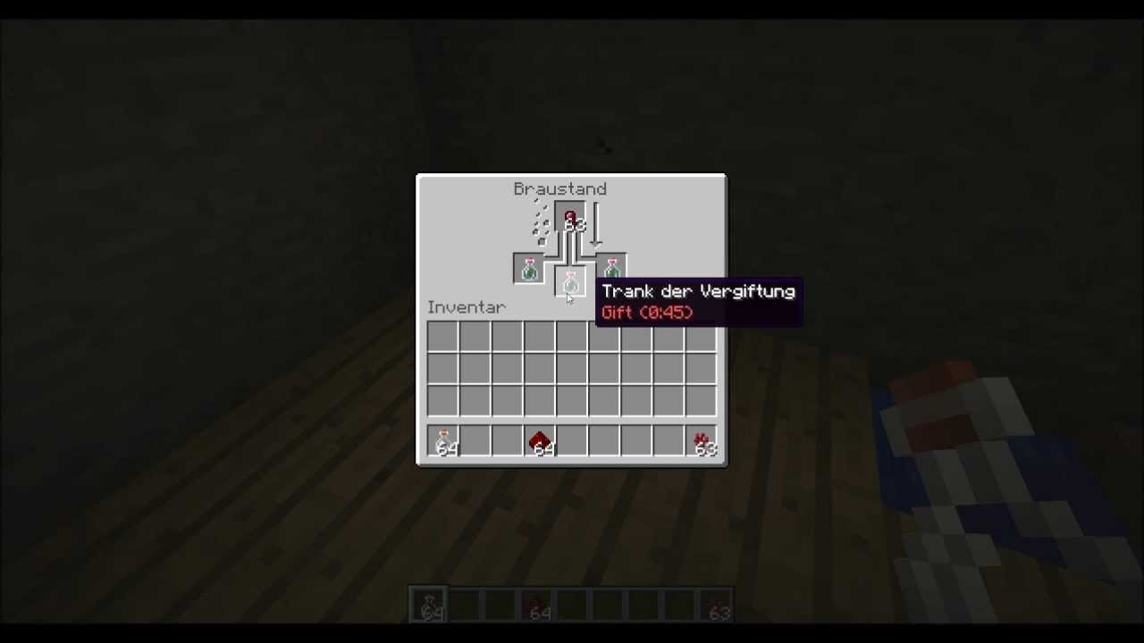 TuT] Minecraft Trank der Vergiftung - YouTube