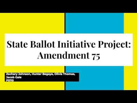 Thumbnail for Explaining the issues: Amendment 75