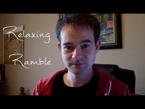 ASMR Relaxing Ramble, Sounds and Affirmations [Male] [Irish Accent] [Andrew ASMR] [Whispering]