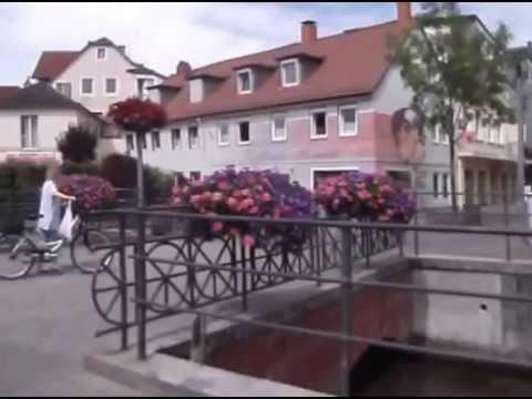 Spaziergang in Bad Lippspringe durch das Zentrum der Stadt