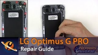 lg optimus g pro screen replacement repair guide