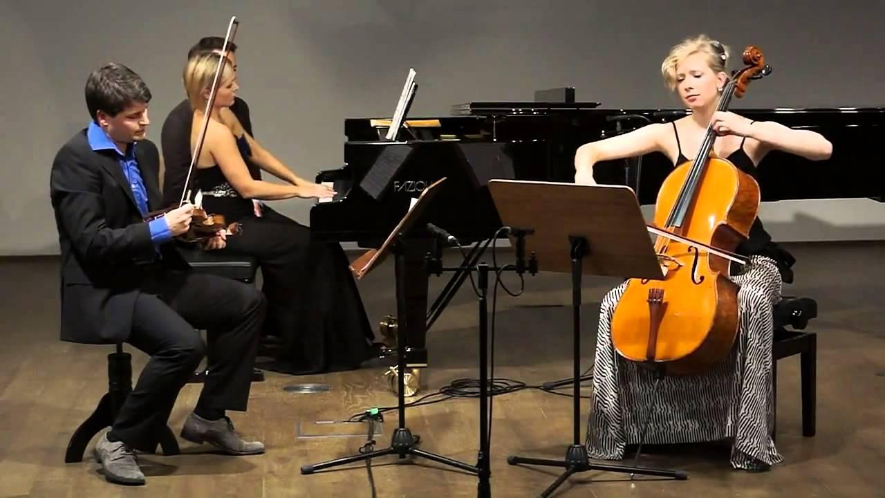 Eben trio: G. Faure - Piano Trio op 120,1st mvt. Allegro ma non troppo